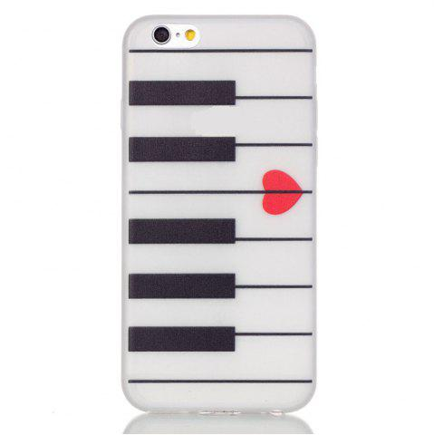 Piano Lumineux Ultra Mince Slim Tpu Silicone Case Pour İphone 6 Plus / 6s Plus