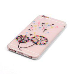 Colorful Dandelion Luminous Ultra Thin Slim Soft TPU Silicone Case for iPhone 6 Plus / 6s Plus -