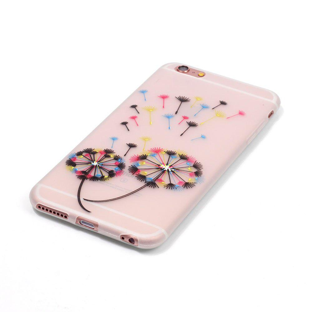 Cheap Colorful Dandelion Luminous Ultra Thin Slim Soft TPU Silicone Case for iPhone 6 Plus / 6s Plus