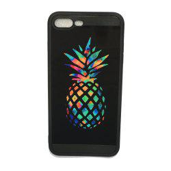 Pineapple Luxury Mirror TPU Soft Back Case for iPhone 7 Plus / 8 Plus -