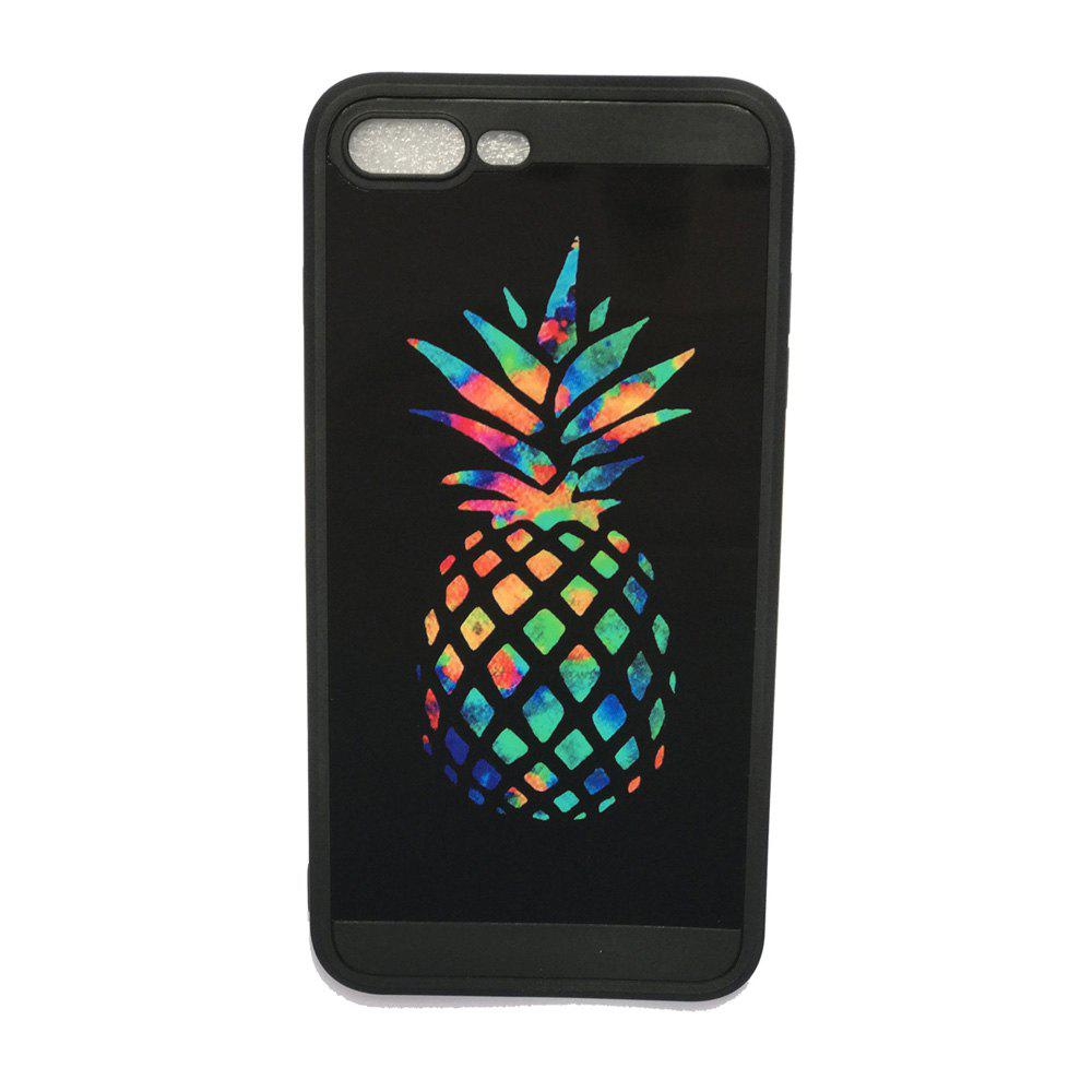 Hot Pineapple Luxury Mirror TPU Soft Back Case for iPhone 7 Plus / 8 Plus