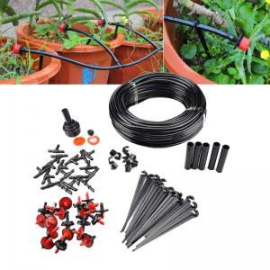 23M Hose 10 Drippers Plant Watering Kits Garden Eqiupment DIY Micro Drip Irrigation System Automatic Gardening -