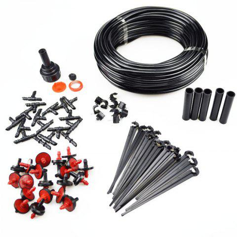 Store 23M Hose 10 Drippers Plant Watering Kits Garden Eqiupment DIY Micro Drip Irrigation System Automatic Gardening