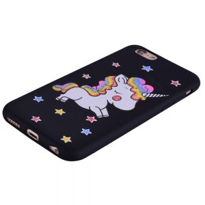 Cute Unicorn TPU Silicone Gel Soft Clear Case Cover for iPhone 6 Plus / 6S Plus -