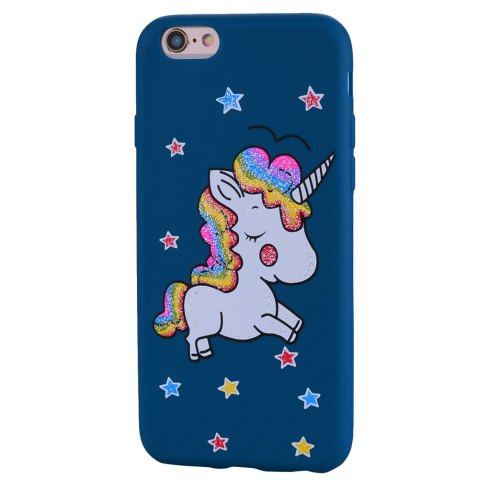 Fashion Cute Unicorn TPU Silicone Gel Soft Clear Case Cover for iPhone 6 Plus / 6S Plus