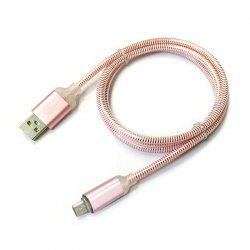 1M USB Light Cable for Samsung HTC Huawei Xiaomi Android Keep Charging with 7 Colours Fast Charge Wire -