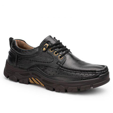 Fashion Comfort and Leisure Lace Up Low Shoes