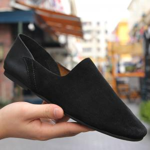 Leather Comfortable Suede Leather Shoes -