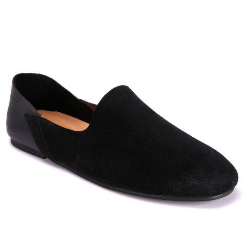 Discount Leather Comfortable Suede Leather Shoes