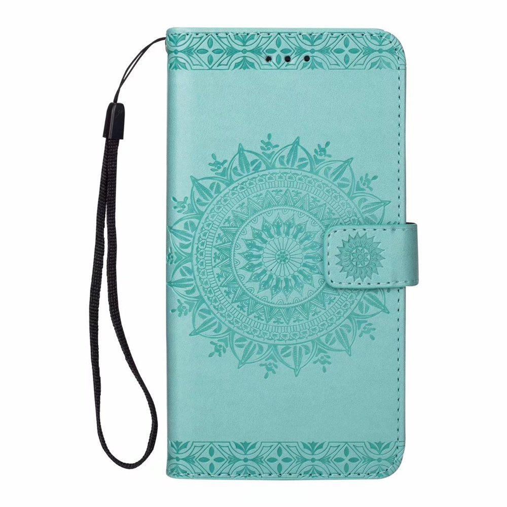 Unique Printing Totem Wallet Polyurethane Leather Wallet Bracket Case for iPhone 7 Plus/ 8 Plus