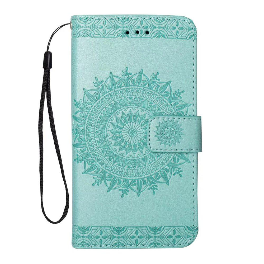 Fancy Polyurethane Leather Wallet Case for iPhone 7 / 8