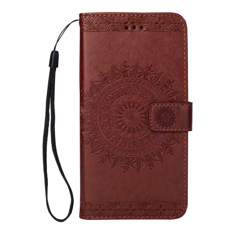 Chic Polyurethane Leather Wallet Case for iPhone 7 / 8