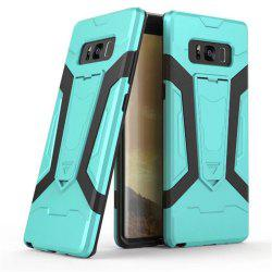 TPU PC Kickstand Phone Case for Samsung Galaxy Note 8 -
