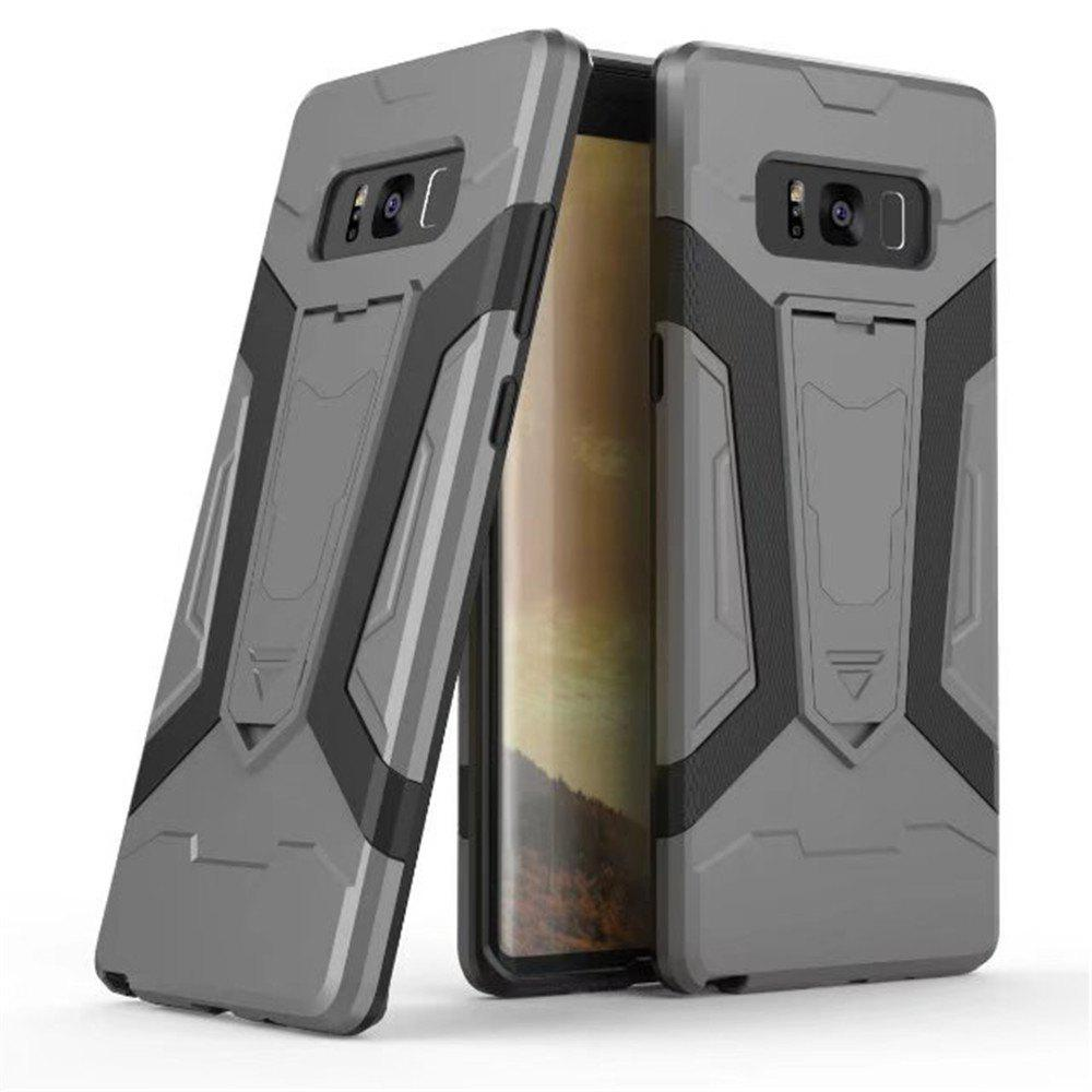 Outfits TPU PC Kickstand Phone Case for Samsung Galaxy Note 8