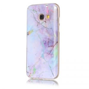 TPU Material Color Plating Phone Case for Samsung Galaxy A3(2017) -