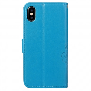 PU + TPU Phone Case for iPhone X -