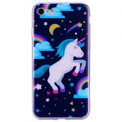 Чехол Pegasus Pattern Soft TPU Clear для iPhone 7/8 -
