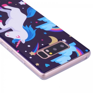 Pegasus Pattern Soft TPU Clear Case для Samsung Galaxy Note 8 -