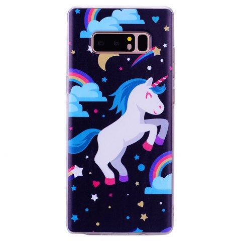 Pegasus Pattern Soft TPU Clear Case для Samsung Galaxy Note 8