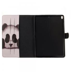 Panda PU+TPU Leather Wallet Cover Design with Stand and Card Slots Magnetic Closure Case for iPad Pro 10.5 Inch -