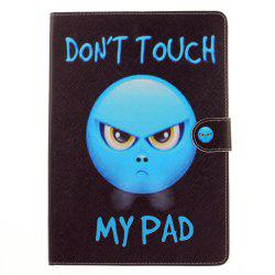 Indignation PU+TPU Leather Wallet Cover Design with Stand and Card Slots Magnetic Closure Case for iPad Pro 10.5 Inch -