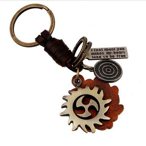 New Men's Knit Vintage Hot Wheel Key Ring Accessory