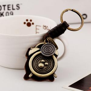 Men's Vintage Fashion Creative Alarm Clock Key Rings -