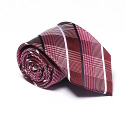 Fashion Business Necktie Men's Tie Classic Comfy Striped Plaid Casual Formal Ties Accessory -
