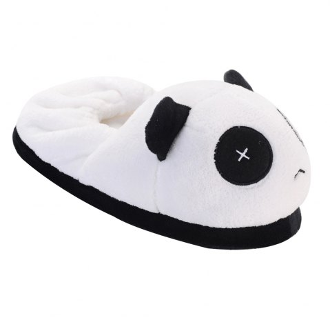 Best Cute Panda  Winter Home Slippers with High Quality Coral Velvet Upper