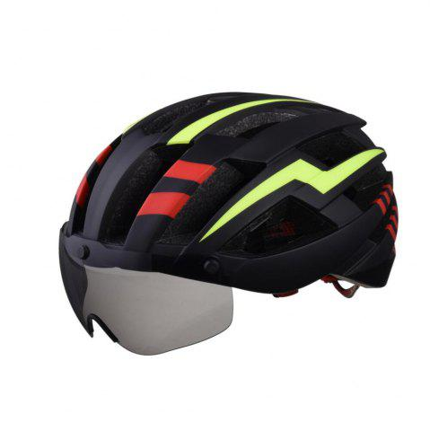 Latest L-003 Bicycle Helmet Bike Cycling Adult Adjustable Unisex Safety Equipment with Visor Len