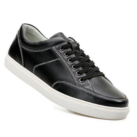 Cheap Men'S Leather Casual Skate Shoes