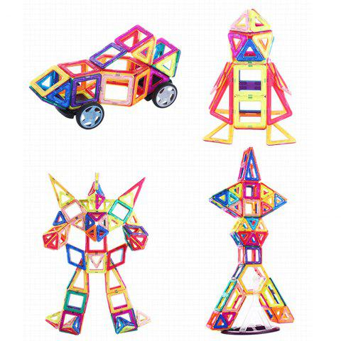 Outfit Magnetic Sheet Building Blocks Variable Lift Magnetic Sheet Puzzle Children Toys  95 Piece