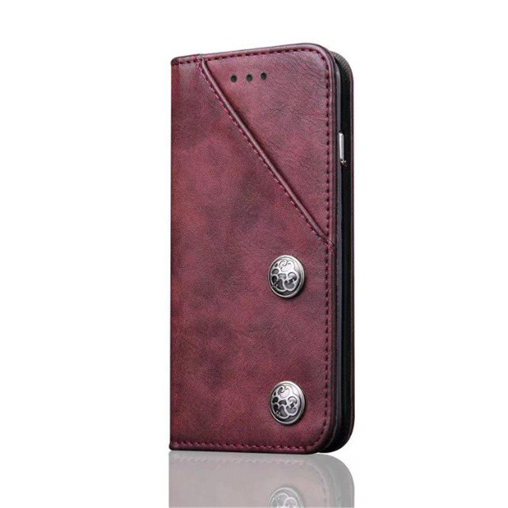 Store Luxury Ultra Thin Slim Flip Leather Phone Case Cover for iPhone 7 Plus / 8 Plus