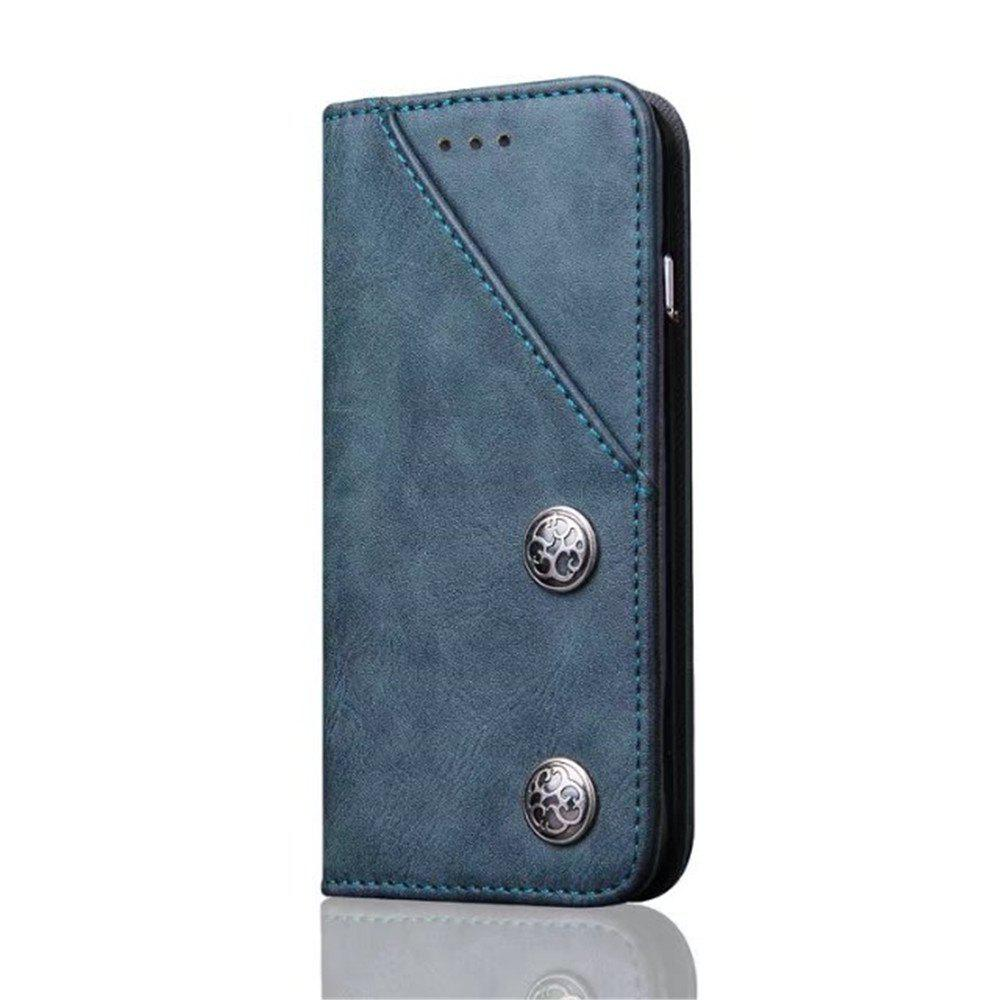 Outfits Luxury Ultra Thin Slim Flip Leather Phone Case Cover for iPhone 7 Plus / 8 Plus