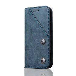 Luxury Ultra Thin Slim Flip Leather Phone Case Cover for iPhone 7 / 8 -