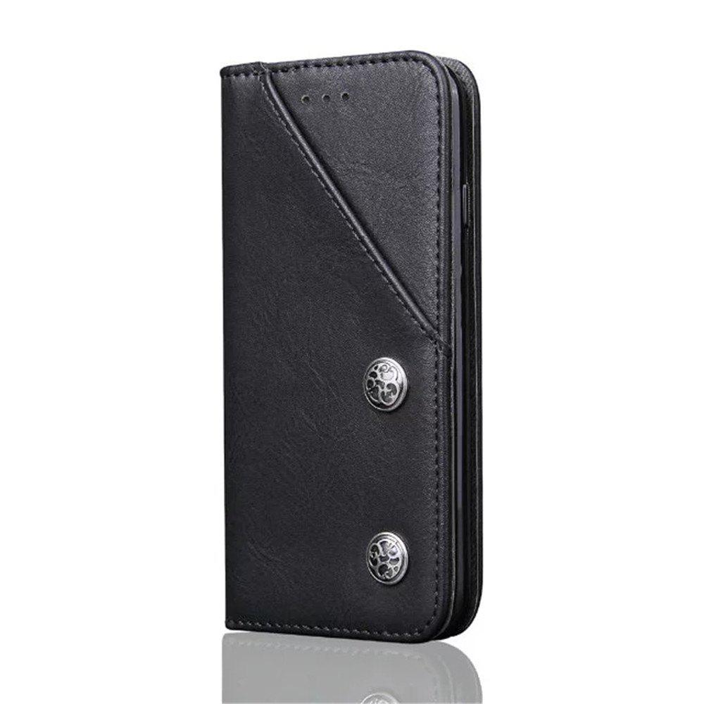 Outfit Luxury Ultra Thin Slim Flip Leather Phone Case Cover for iPhone 7 / 8