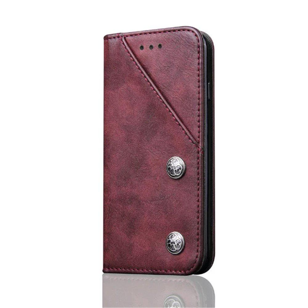 Online Luxury Ultra Thin Slim Flip Leather Phone Case Cover for iPhone 7 / 8