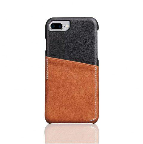 Discount For iPhone 8 Plus / 7 Plus / 6 Plus Luxury Leather with Card Mobile Phone Shell  Fitted Case