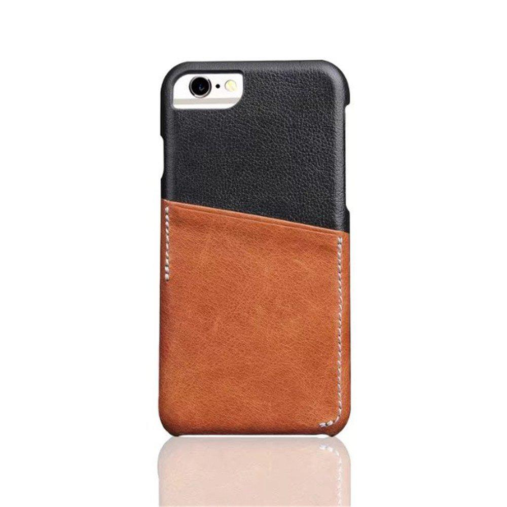 Shop For iPhone 8 / 7 / 6 / 6S  Luxury Leather with Card Mobile Phone Shell  Fitted Case