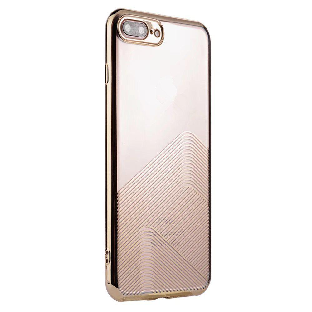 Cas Crystal Clear Tpu Gel Skin Slim Fit Transparent Flexible Pour İphone 7 Plus / 8 Plus
