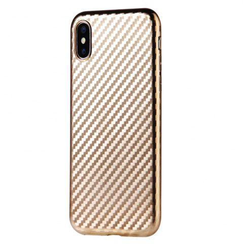New Slim Protective Case Cover with Shock-Absorption and Carbon Fiber for iPhone X