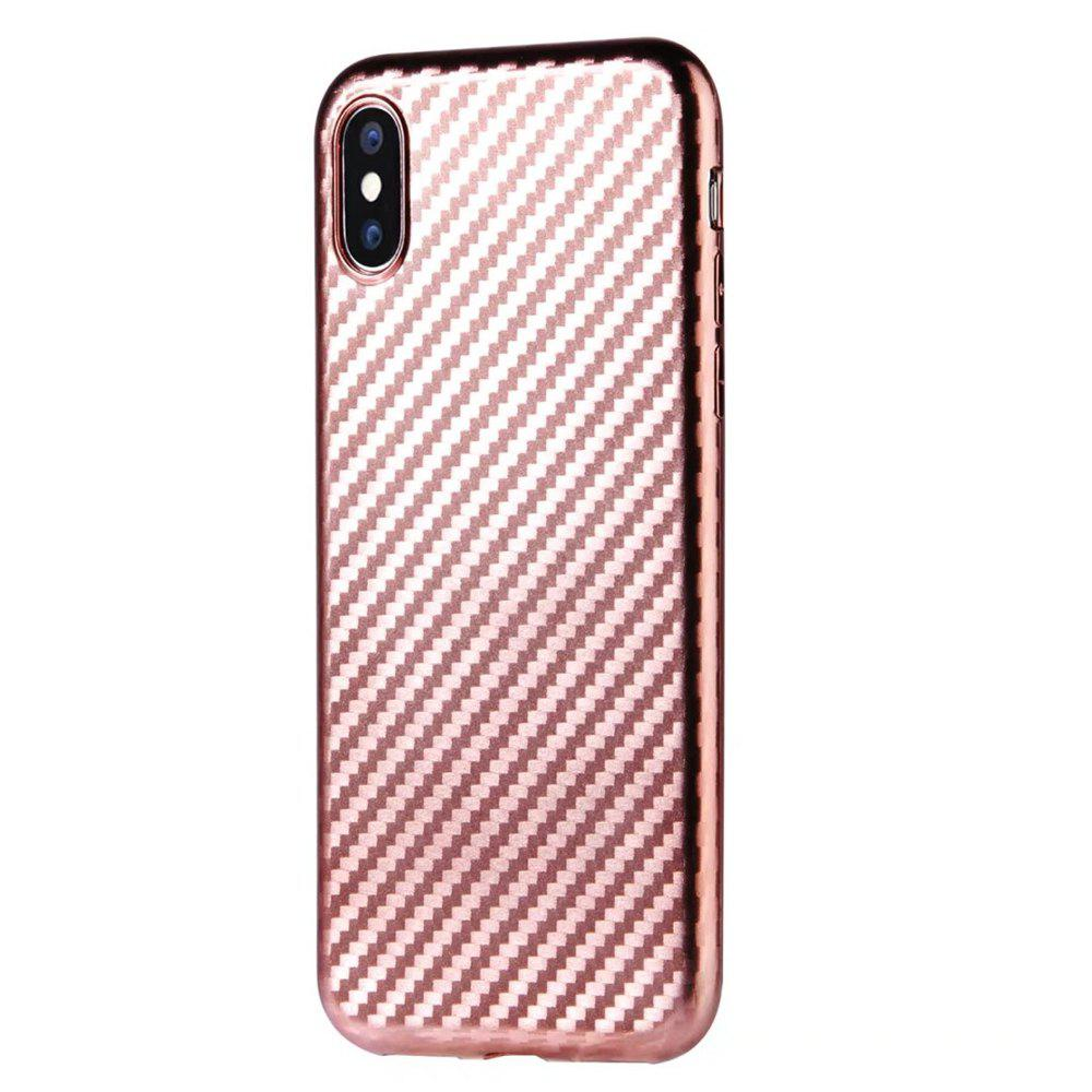 Latest Slim Protective Case Cover with Shock-Absorption and Carbon Fiber for iPhone X