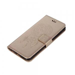 Owl Embossed Pattern PU Leather Wallet Case for Huawei P10 Plus -