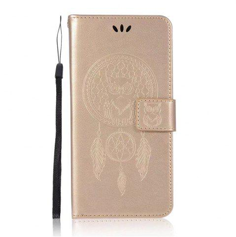 Sale Owl Embossed Pattern PU Leather Wallet Case for Huawei P10 Plus