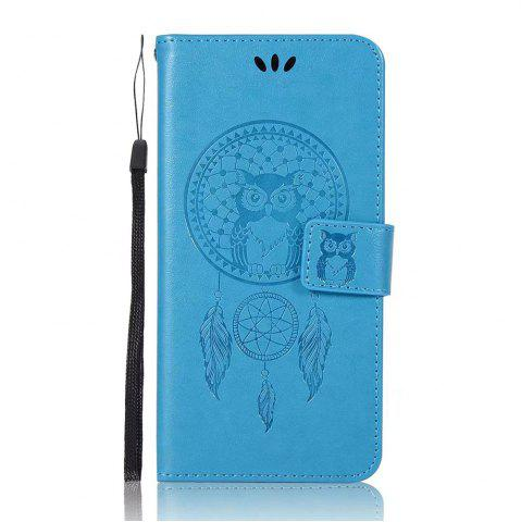 Discount Owl Embossed Pattern PU Leather Wallet Case for Huawei P10 Plus