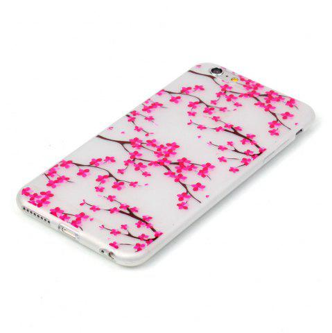 Best Plum Blossom Luminous Ultra Thin Slim Soft TPU Silicone Case for iPhone 6 / 6s