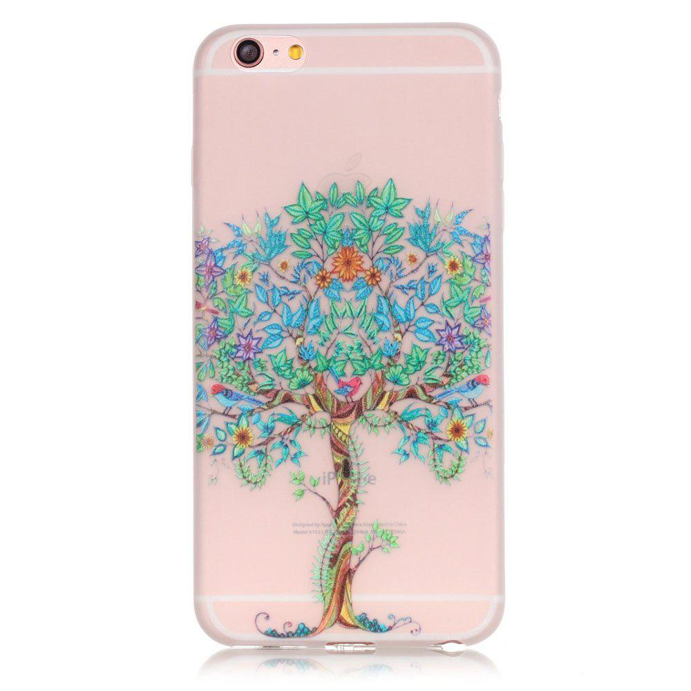 Online Green Tree Luminous Ultra Thin Slim Soft TPU Silicone Case for iPhone 6 / 6s