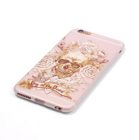 Unique Skeleton Luminous Ultra Thin Slim Soft TPU Silicone Case for iPhone 6 / 6s