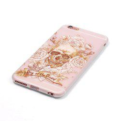 Skeleton Luminous Ultra Thin Slim Soft TPU Silicone Case for iPhone 6 / 6s -