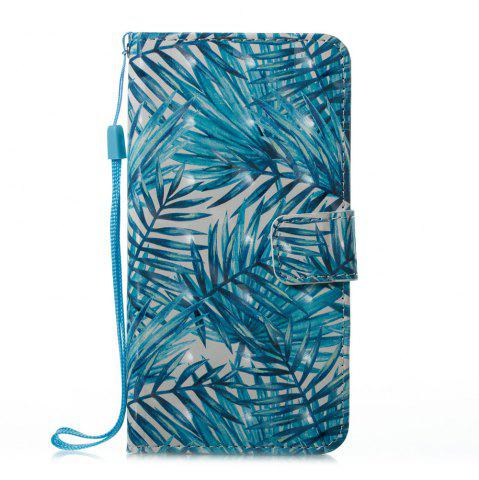 Shops Banana Leaf Pattern 3D PU Leather Flip Wallet Case for iPhone X